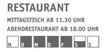 Öffnungszeiten akademie amtzell restauran + eventhaus